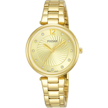 Relojes & Joyas Mujer Relojes analógicos Pulsar PH8494X1, Quartz, 30mm, 5ATM Oro
