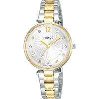 Relojes & Joyas Mujer Relojes analógicos Pulsar PH8492X1, Quartz, 30mm, 5ATM Plata