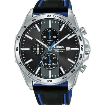Relojes & Joyas Hombre Relojes analógicos Lorus RM347GX9, Quartz, 45mm, 10ATM Plata
