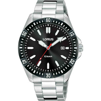Relojes & Joyas Hombre Relojes analógicos Lorus RH935MX9, Quartz, 40mm, 10ATM Plata