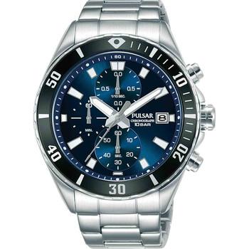 Relojes & Joyas Hombre Relojes analógicos Pulsar PM3187X1, Quartz, 45mm, 10ATM Plata