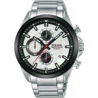 Relojes & Joyas Hombre Relojes analógicos Pulsar PM3183X1, Quartz, 44mm, 10ATM Plata