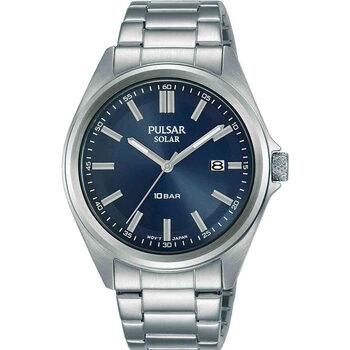 Relojes & Joyas Hombre Relojes analógicos Pulsar PX3229X1, Quartz, 40mm, 10ATM Plata