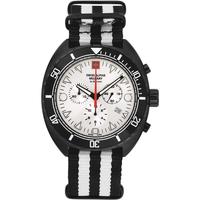 Relojes & Joyas Hombre Relojes analógicos Swiss Alpine Military 7066.9672, Quartz, 44mm, 10ATM Negro