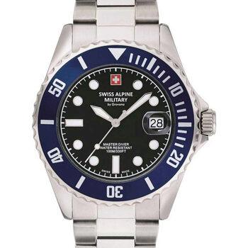 Relojes & Joyas Hombre Relojes analógicos Swiss Alpine Military 7053.1136, Quartz, 42mm, 10ATM Plata
