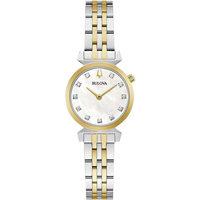 Relojes & Joyas Mujer Relojes analógicos Bulova 98P202, Quartz, 24mm, 3ATM Plata