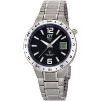 Relojes & Joyas Hombre Relojes mixtos analógico-digital Ett Eco Tech Time EGT-11411-41M, Quartz, 40mm, 5ATM Plata