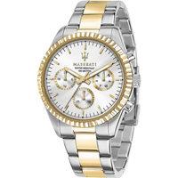 Relojes & Joyas Hombre Relojes analógicos Maserati R8853100021, Quartz, 43mm, 10ATM Oro