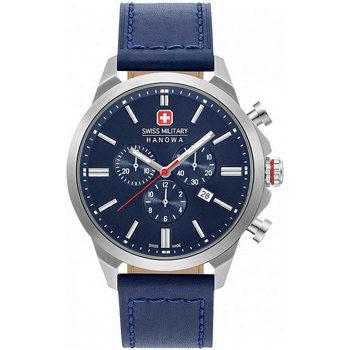 Relojes & Joyas Hombre Relojes analógicos Swiss Military By Chrono 06-4332.04.003, Quartz, 45mm, 10ATM Plata