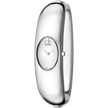 Relojes & Joyas Mujer Relojes analógicos Calvin Klein Jeans K1Y23120, Quartz, 19mm, 3ATM Plata