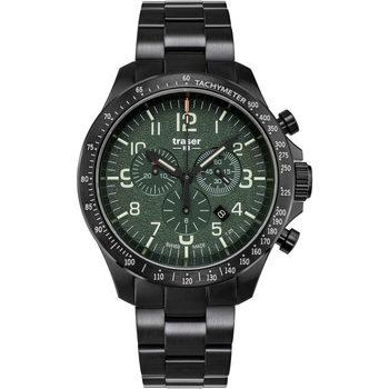 Relojes & Joyas Hombre Relojes analógicos Traser H3 109464, Quartz, 46mm, 10ATM Negro