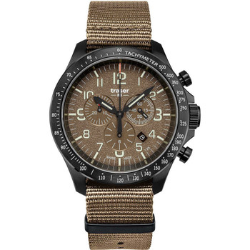 Relojes & Joyas Hombre Relojes analógicos Traser H3 109459, Quartz, 46mm, 10ATM Negro