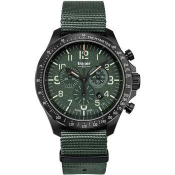 Relojes & Joyas Hombre Relojes analógicos Traser H3 109463, Quartz, 46mm, 10ATM Negro
