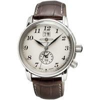 Relojes & Joyas Hombre Relojes analógicos Zeppelin 7644-5, Quartz, 42mm, 5ATM Plata