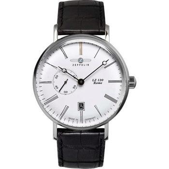 Relojes & Joyas Hombre Relojes analógicos Zeppelin 7104-1, Automatic, 41mm, 5ATM Plata