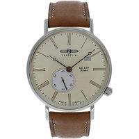 Relojes & Joyas Hombre Relojes analógicos Zeppelin 7134-5, Quartz, 40mm, 5ATM Plata