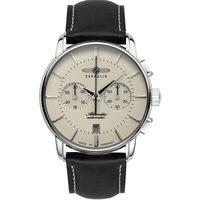 Relojes & Joyas Hombre Relojes analógicos Zeppelin 8422-5, Automatic, 42mm, 5ATM Plata