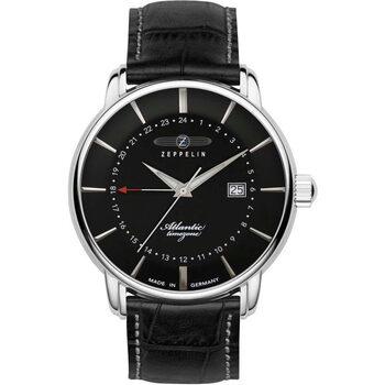 Relojes & Joyas Hombre Relojes analógicos Zeppelin 8442-2, Quartz, 41mm, 5ATM Plata