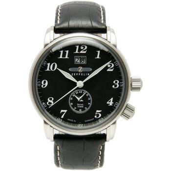 Relojes & Joyas Hombre Relojes analógicos Zeppelin 7644-2, Quartz, 43mm, 5ATM Plata