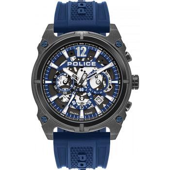 Relojes & Joyas Hombre Relojes analógicos Police PL16020JSU.61P, Quartz, 45mm, 5ATM Negro