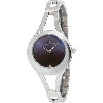 Relojes & Joyas Mujer Relojes analógicos Jacques Lemans 1-2071A, Quartz, 32mm, 5ATM Plata