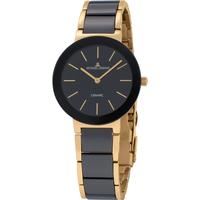 Relojes & Joyas Mujer Relojes analógicos Jacques Lemans 42-7E, Quartz, 34mm, 10ATM Oro