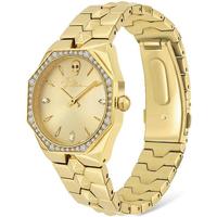 Relojes & Joyas Mujer Relojes analógicos Police PL16038BSG.22M, Quartz, 35mm, 3ATM Oro