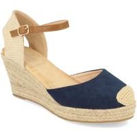 Zapatos Mujer Alpargatas Buonarotti 1GK-1077 Marino