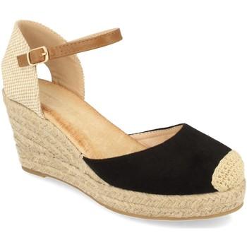 Zapatos Mujer Alpargatas Buonarotti 1GK-1077 Negro