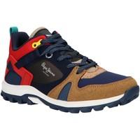 Zapatos Niño Running / trail Pepe jeans PBS50086 ARCADE TRAIL Marr?n