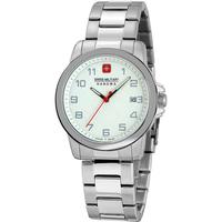 Relojes & Joyas Hombre Relojes analógicos Swiss Military By Chrono 06-5231.7.04.001.10, Quartz, 39mm, 5ATM Plata