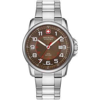 Relojes & Joyas Hombre Relojes analógicos Swiss Military By Chrono 06-5330.04.005, Quartz, 43mm, 5ATM Plata