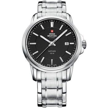 Relojes & Joyas Hombre Relojes analógicos Swiss Military By Chrono SM34039.01, Quartz, 40mm, 10ATM Plata