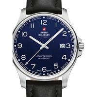 Relojes & Joyas Hombre Relojes analógicos Swiss Military By Chrono SM30200.26, Quartz, 39mm, 5ATM Plata