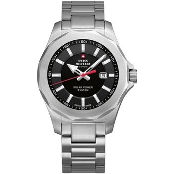 Relojes & Joyas Hombre Relojes analógicos Swiss Military By Chrono SMS34073.01, Quartz, 42mm, 10ATM Plata