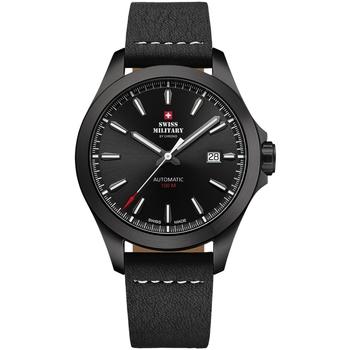 Relojes & Joyas Hombre Relojes analógicos Swiss Military By Chrono SMA34077.10, Automatic, 42mm, 10ATM Negro