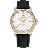 Relojes & Joyas Hombre Relojes analógicos Swiss Military By Chrono SMA34025.07, Automatic, 39mm, 10ATM Plata
