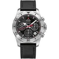 Relojes & Joyas Hombre Relojes analógicos Swiss Military By Chrono SMS34072.04, Quartz, 44mm, 10ATM Plata