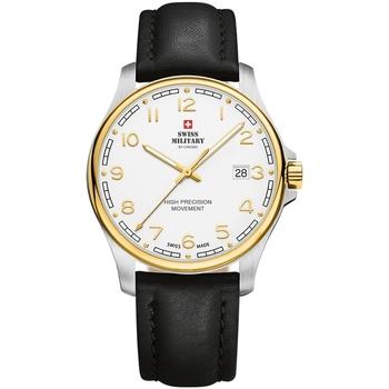 Relojes & Joyas Hombre Relojes analógicos Swiss Military By Chrono SM30200.28, Quartz, 39mm, 5ATM Plata