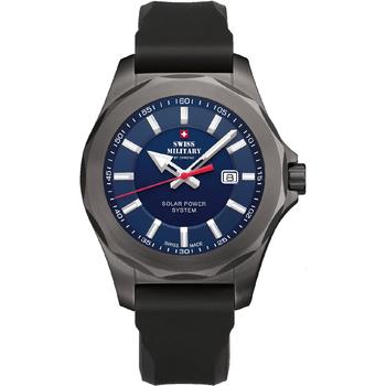 Relojes & Joyas Hombre Relojes analógicos Swiss Military By Chrono SMS34073.08, Quartz, 42mm, 10ATM Plata