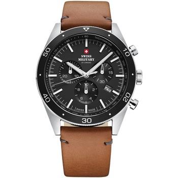 Relojes & Joyas Hombre Relojes analógicos Swiss Military By Chrono SM34079.04, Quartz, 43mm, 10ATM Plata