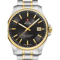 Relojes & Joyas Hombre Relojes analógicos Swiss Military By Chrono SM30200.04, Quartz, 39mm, 5ATM Plata