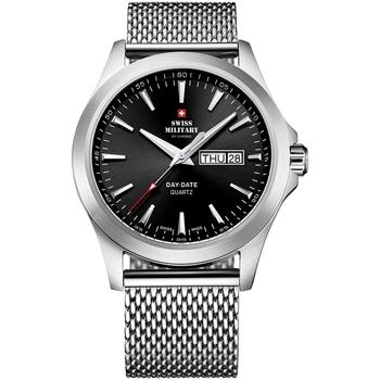 Relojes & Joyas Hombre Relojes analógicos Swiss Military By Chrono SMP36040.01, Quartz, 42mm, 5ATM Plata