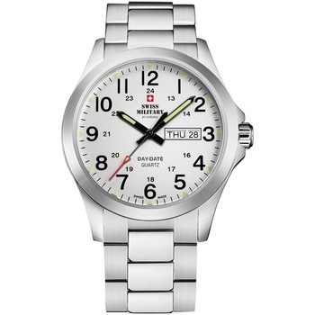 Relojes & Joyas Hombre Relojes analógicos Swiss Military By Chrono SMP36040.26, Quartz, 42mm, 5ATM Plata