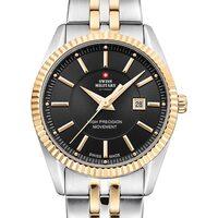 Relojes & Joyas Mujer Relojes analógicos Swiss Military By Chrono SM34066.04, Quartz, 33mm, 5ATM Plata