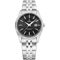 Relojes & Joyas Mujer Relojes analógicos Swiss Military By Chrono SM34066.01, Quartz, 33mm, 5ATM Plata