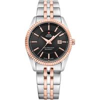 Relojes & Joyas Mujer Relojes analógicos Swiss Military By Chrono SM34066.06, Quartz, 30mm, 5ATM Plata