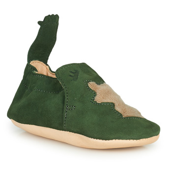 Zapatos Niños Pantuflas Easy Peasy BLUMOO RENARD Suave / Verde / Suave / Cuero