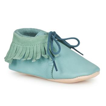 Zapatos Niños Pantuflas Easy Peasy MEXIMOO Suave / Harbor / Gris / Suave / Cuero