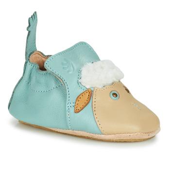 Zapatos Niños Pantuflas Easy Peasy BLUBLU MOUTON Suave / Niebla / Suave / Patin